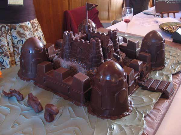 замок из шоколада картинки коллега