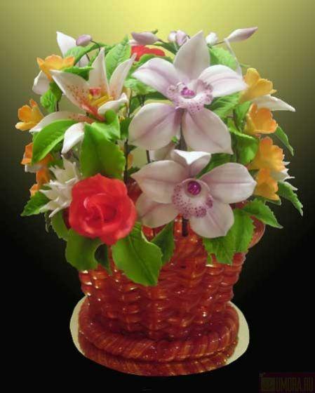 Цветы из карамели купить в москве, омске