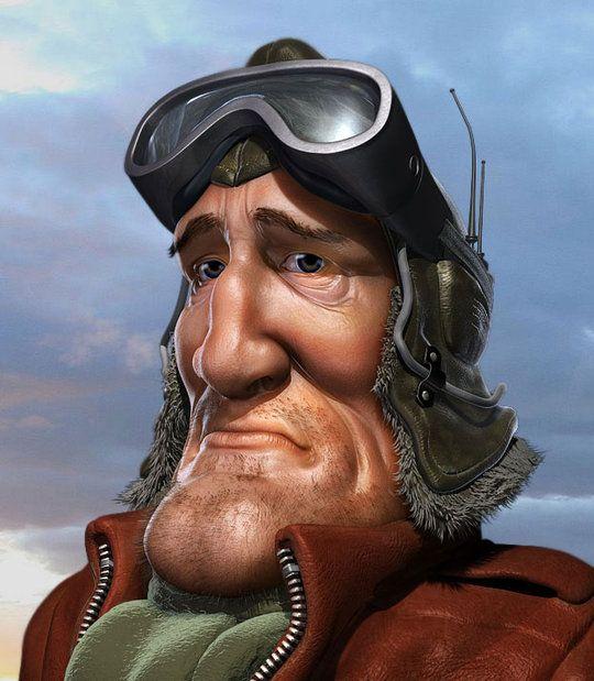 Прикольный картинки пилот