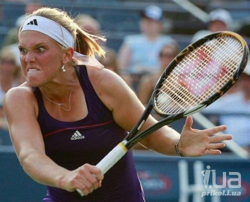 Секс приколы в тенисе