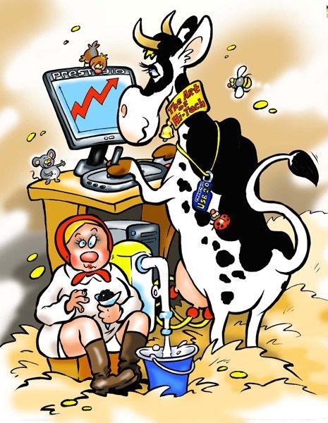 Картинки смешные корову доят, мир наталью днем
