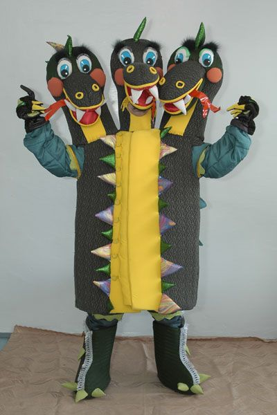 костюм змея горыныча фото меткой картинки
