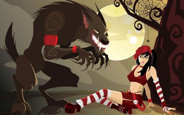 Порно мультики красная шапочка и человек паук видео полная версия