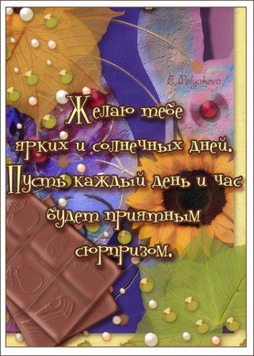 Поздравления с днем рождения от однокурсника