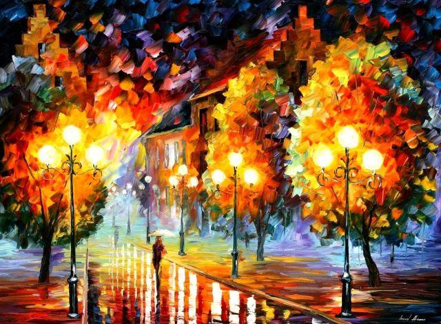 картинки рисованная осень