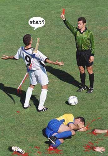 футбол прикол фото