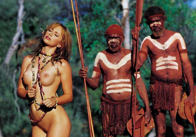 Секс в племенах туристок
