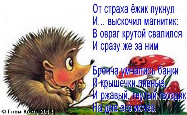 Ежика Анекдот