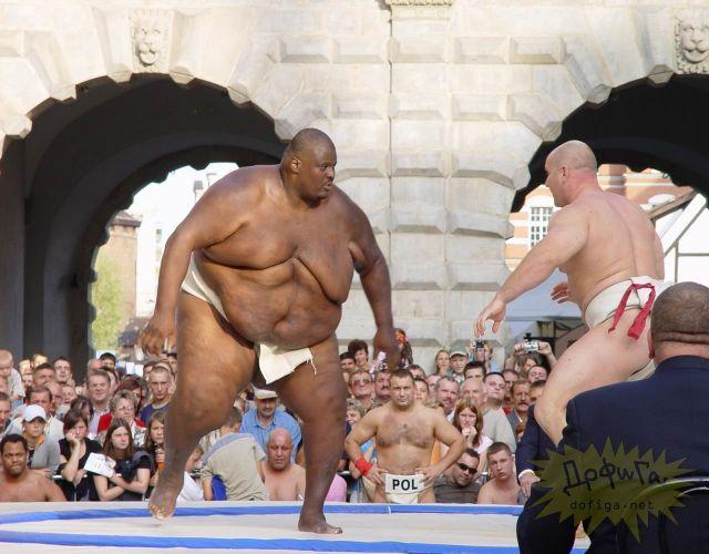 Самый большой дзюдоист в мире
