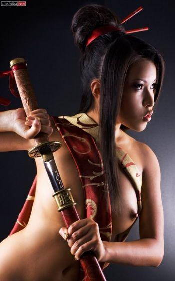 девушка самурай ххх