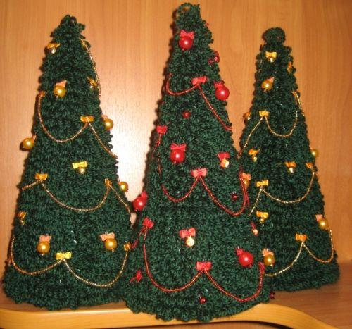 Сделать елку своими руками вязаная