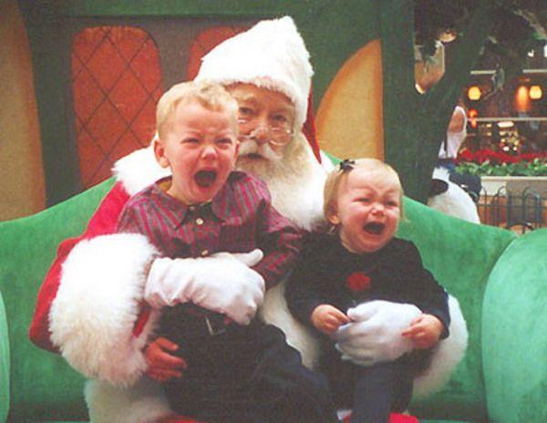 Дети и новый год смешные картинки