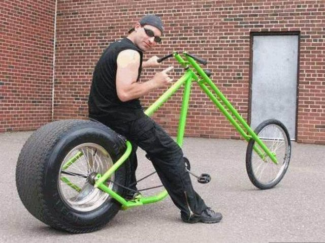 Вело мотоцикл своими руками