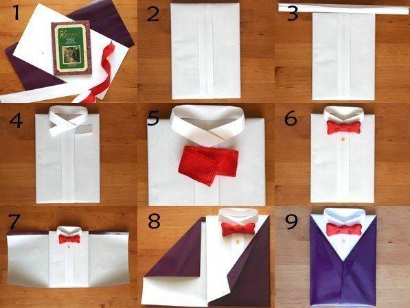 Оригинальные упаковки для подарков