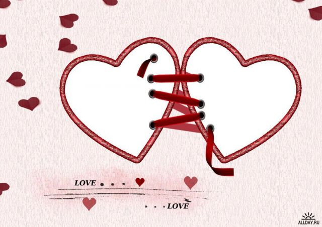 Рисунки схемами про любовь